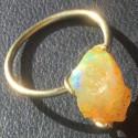 Кольцо с эфиопским опалом