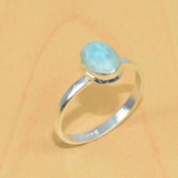 Кольцо с ларимаром серебро