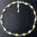 Серебряный браслет с эфиопским опалом